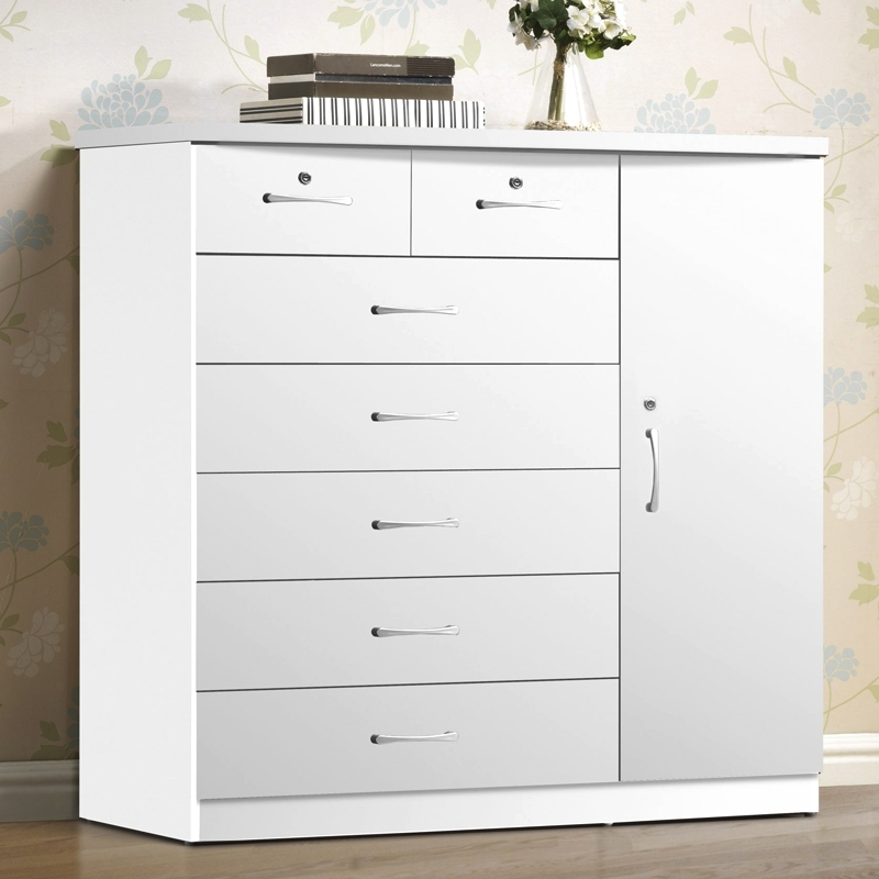 7 Drawer Chest with Closet