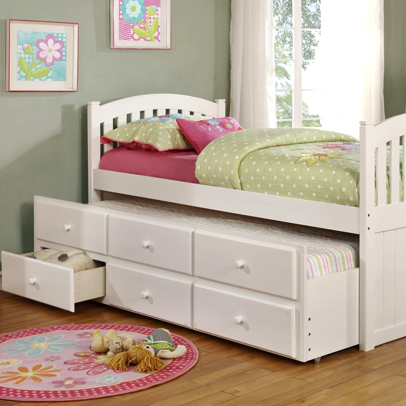 Twin/Twin Trundle Bed [5104]